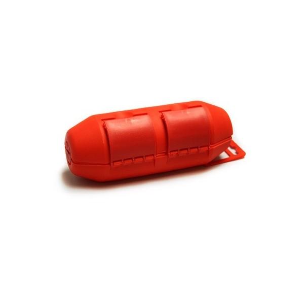 boitier tanche rouge pour connection lectrique 2 37. Black Bedroom Furniture Sets. Home Design Ideas