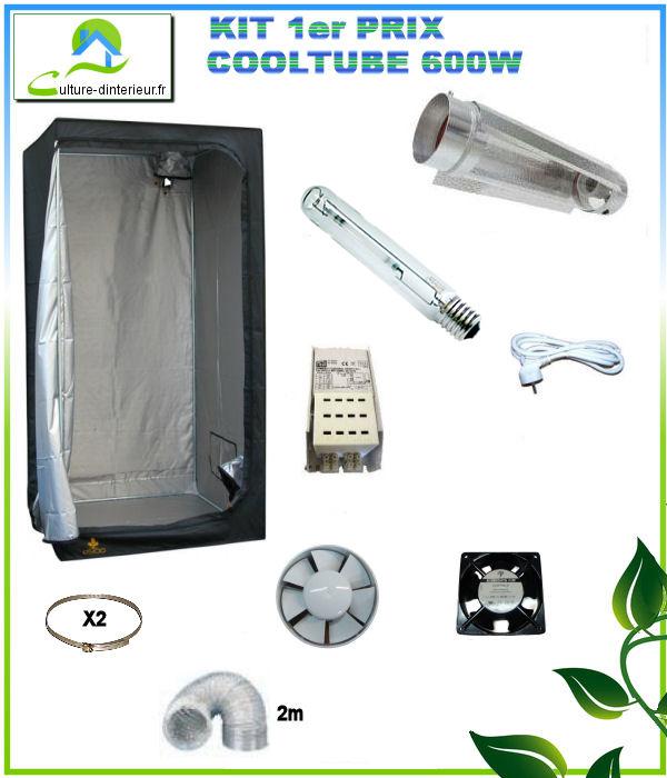 Kit cooltube premierprix for Kit complet culture interieur