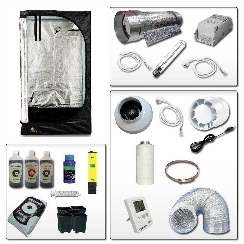 kit complet 400w terreaux 1 422 10 growshop materiel de culture int. Black Bedroom Furniture Sets. Home Design Ideas