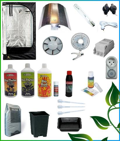 Kit complet 1er prix box150 600w 429 00 growshop - Kit chambre de culture complet ...