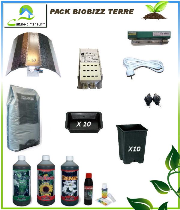 Kit 400w biobizz 100 80 growshop materiel de culture for Kit complet culture interieur