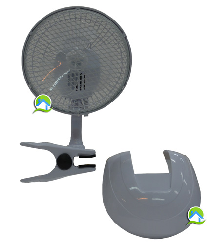 Ventilateur clips 15cm socle 15 50 growshop - Ventilateur chambre de culture ...