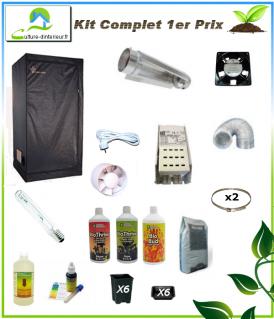 Kit complet 250w 1er prix box 80 272 91 growshop - Kit chambre de culture complet ...