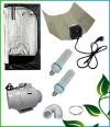 Kit Eco 200W croissance et floraison Box Mylar 60x60