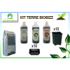 KIT 3X500ml BIOBIZZ + terreau + pots