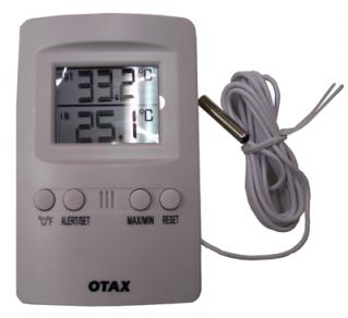 Thermometre exterieur interieur a sonde 12 00 for Temperature culture interieur